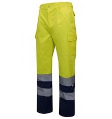 Pantalón bicolor alta visibilidad Clase2